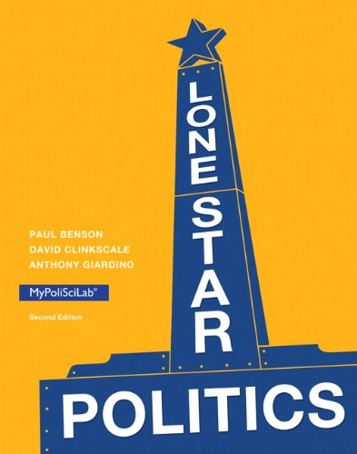 Lone Star Politics, plus NEW MyPolisciLab with eText -- Access Card Package (2nd Edition)