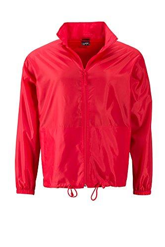 Il A Giacca Vento red Men's Light Promo Jacket Tempo E Per Promozionale Libero Ftr4nfrqc