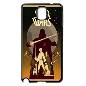 Unique Phone Case Design 11Star Wars Pattern- For Samsung Galaxy NOTE3 Case Cover