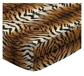 (SheetWorld Crib Sheet Set - Tiger - Made In USA)