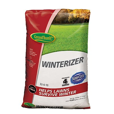 Green Thumb, 15,000 SQFT Coverage, 32-0-10 Winterizer