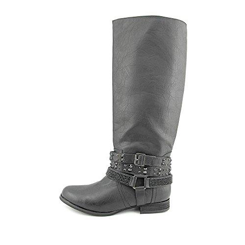 Not Rated Love Stoned Damen Schwarz Mode-Knie hoch Stiefel EU 37