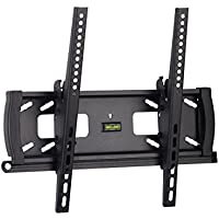 Monoprice Tilt TV Wall Mount Bracket - For TVs 32in to 55in Max Weight 99lbs VESA Patterns Up to 400x400 Security Brackets UL Certified
