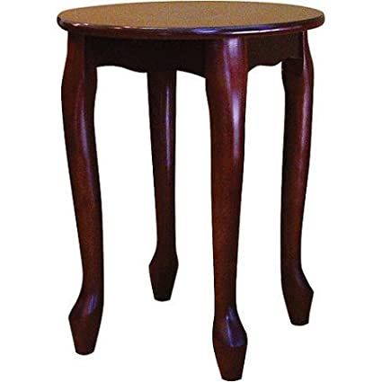 Astonishing Ore Small Round Coffee End Table Cherry Dailytribune Chair Design For Home Dailytribuneorg