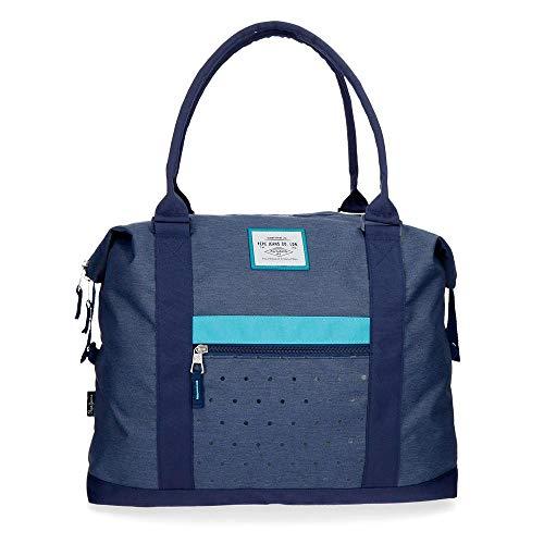 🥇 Bolsa de viaje Pepe Jeans Molly azul
