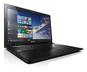 "Lenovo G70-80 - Portátil de 17.3"" HD (Intel Core I3-5005U, 4 GB de RAM, 1 TB de disco duro, Nvidia GeForce GT 920M con 1 GB, Windows 10) negro - teclado QWERTY español"