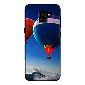 Cover It Up - Sky Balloons Galaxy A8 Plus Hard Case