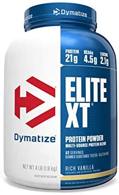 Dymatize Elite Protein Powder Vanilla product image