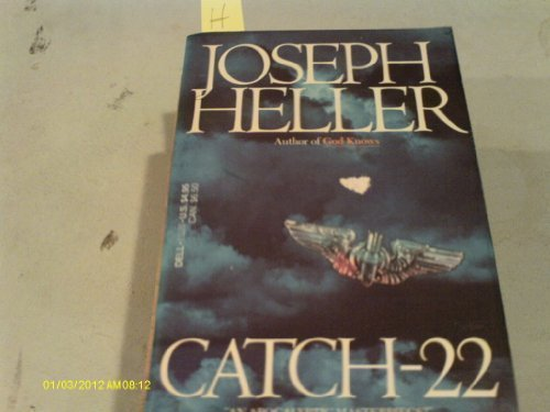 Book cover from Catch 22 by Joseph Heller
