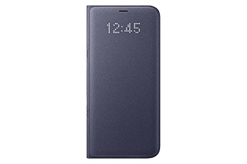 Samsung Galaxy S8+ LED View Wallet Case Violet EF-NG955PVEGWW