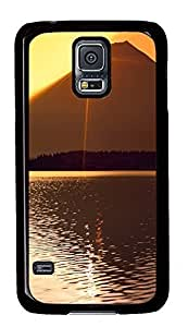 customizable Samsung S5 covers Sunset 09 PC Black Custom Samsung Galaxy S5 Case Cover