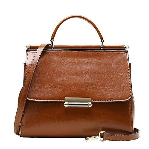 femme de européenne Brown pour femme mode sac Sac et PU bag carré à Messenger américaine à petit main bandoulière pour sac FwqBtvn7w