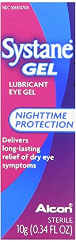(Systane Lubricant Eye Gel, 0.34-Ounces (2 packs))