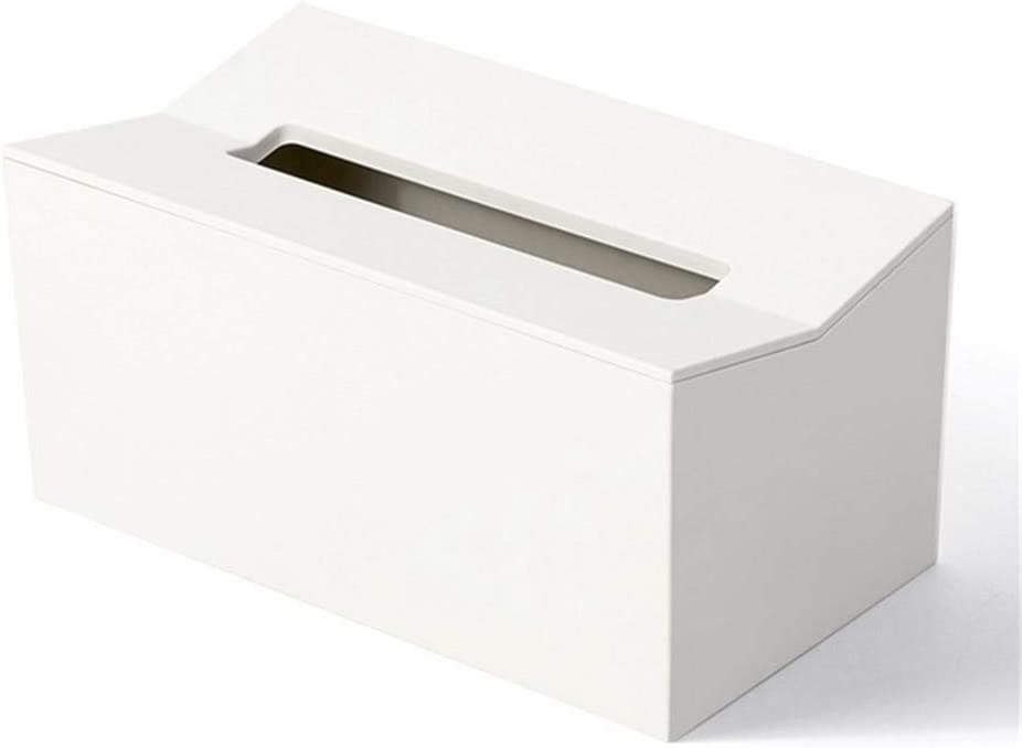 NUOMIZAI Caja de pañuelos-2 Piezas Toallero de plástico de Pared ...