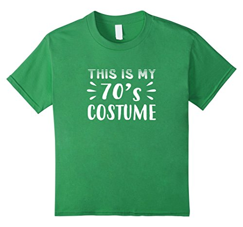 70s Costumes Boys (Kids Funny THIS IS MY 70s COSTUME Halloween T-Shirt 10)