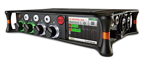 (Sound Devices MixPre-6 Portable Multichannel Audio Recorder/Mixer, and USB Audio Interface)
