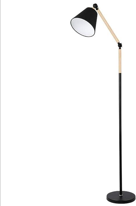 Lámpara de pie Nordic Sala de estar Dormitorio IKEA Estudio cálido ...