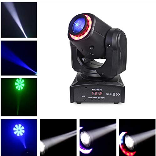 JTL Led 30W DMX512 Control Moving Head Light Mini Stage Light With Colored Lights