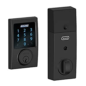 Schlage Z Wave Connect Century Touchscreen Deadbolt With