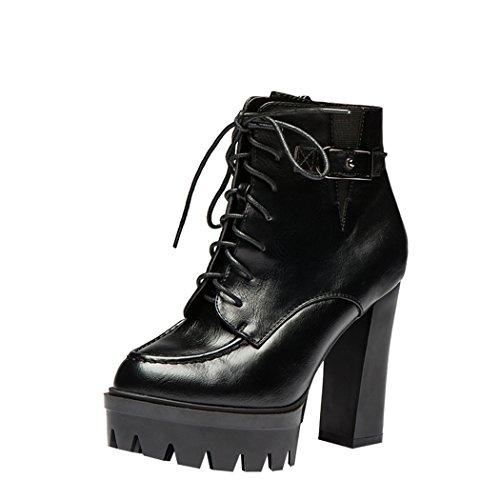 hydne-womens-pu-leather-high-heel-platform-zipper-buckle-side-short-boots