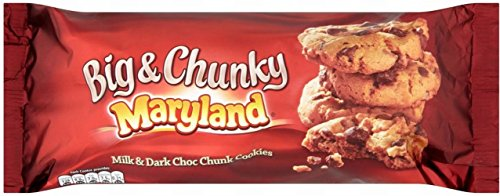 Maryland Big & Chunky Milk & Dark Chocolate Cookies (200g)