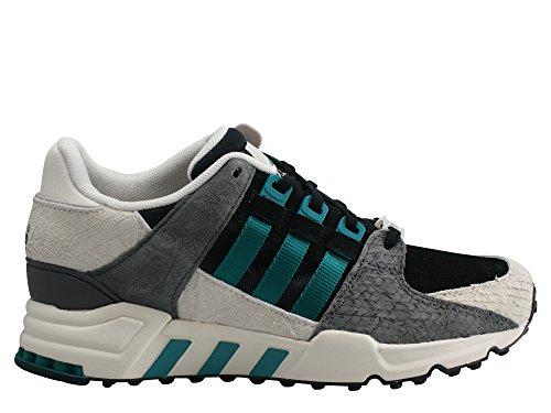 adidas Originals Equipment Support 93 W S78910 Damen Women Sneaker Shoes Schuhe - BLACK/REFSIL/REFSIL
