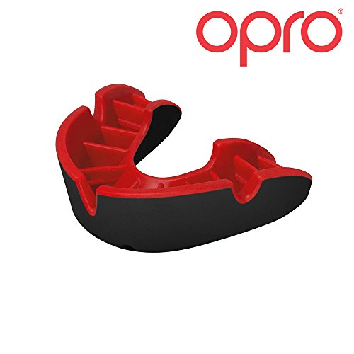 OPRO Mouthguard Custom-Fit Silver Level Gum Shield for Ball, Combat and Stick Sports - 18 Month Dental Warranty (Adult and Kids Sizes)