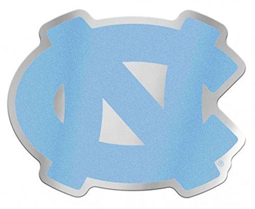 WinCraft University of North Carolina UNC Tar Heels Auto Badge Decal, Hard Thin Acrylic, 4x4 inches