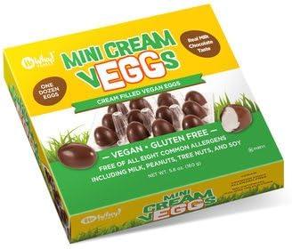 No Whey Chocolate veggs de crema de leche - libre, libre de frutos secos, soja vegano libre: Amazon.es: Alimentación y bebidas
