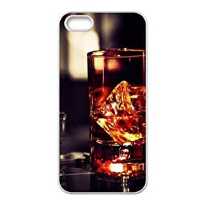 For SamSung Galaxy S6 Phone Case Cover Whiskey Glass Rocks Hard Shell Back White For SamSung Galaxy S6 Phone Case Cover 316639