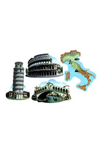Italian Cutouts   (4/Pkg) -
