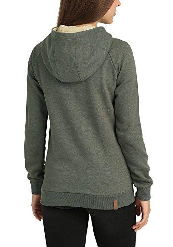 Blend Jana en Shirt She Zipp Veste Green Capuche pour Sweat Ivy Femme Capuche Sweat TTraHqwx5