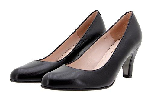 en 9201 Chaussure Noir PieSanto Femme Amples Escarpin Confort Confortables Cuir wOHnA7xFRq