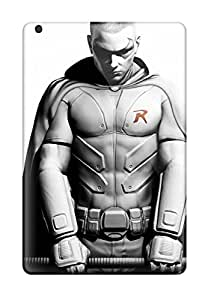 Protective Tpu Cases With Fashion Design For Ipad Mini (batman Arkham City Robin)