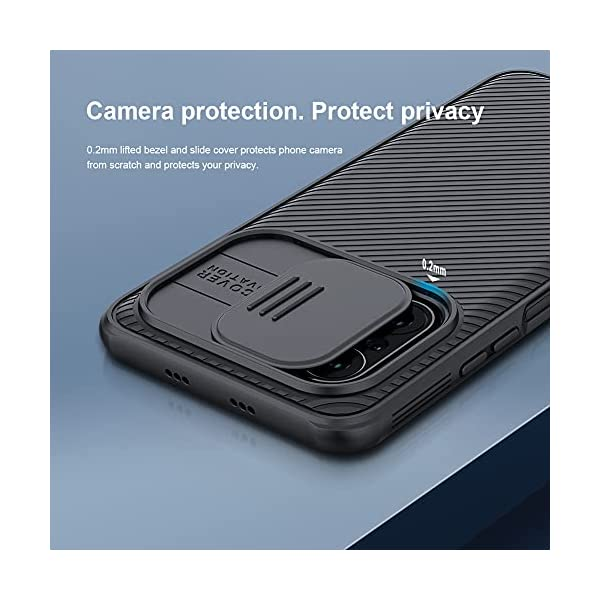 Nillkin CamShield Pro Camera Open Close Hard Plastic Back Cover Case for Poco F3/ Mi 11X/ Mi 11X Pro- Black 2021 July Daily Shoppers is Authorized Nillkin seller, Nillkin product only from Daily Shoppers with authenticity code verification Slide Cover for Camera Protection & Privacy Accurate Cutouts for all ports & switches