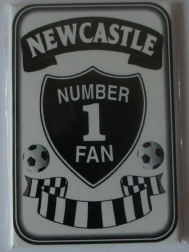 Newcastle número 1 ventilador imán para nevera Inglés fútbol ...