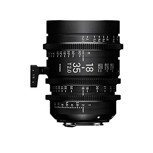 Sigma 18-35mm T2 High-Speed Zoom Lens (Canon, USA Version)