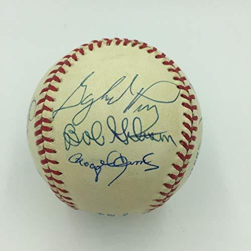 Ball Ryan Nolan (Rare 3,000 Strikeout Club Signed Baseball Nolan Ryan Roger Clemens 10 Sigs PSA)