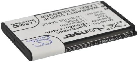 Replacement Battery for RTI Pro24.r Pro Pro24.i Pro24.r v2 Pro24.z 41-500012-13 ATB-1100-SANUF