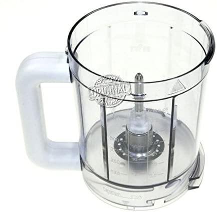Cuenco, Taza, recipiente, recipiente 750 ml original Braun para robot de cocina CombiMax K700, K750: Amazon.es