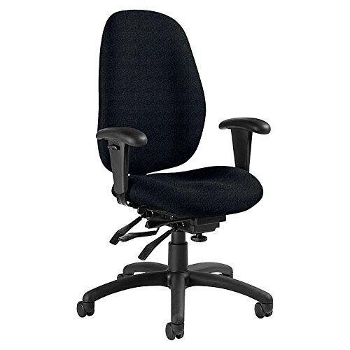 Global Malaga Multi-Tilter Fabric High-Back Executive Office Chair ()
