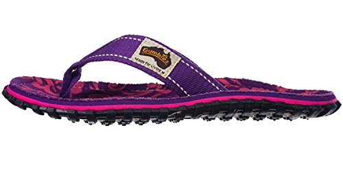 gumbies Purple Unisex chanclas Hibiscus gumbies chanclas 7qwaxZB