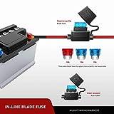 Nilight 2PCS LED Light Bar Wiring Harness Kit 12V