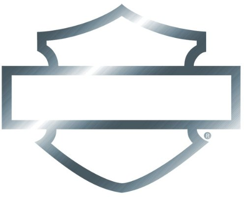 harley davidson window bar shield chrome silhouette die cutz rh amazon co uk bar and shield logo trademark bar and shield logo template