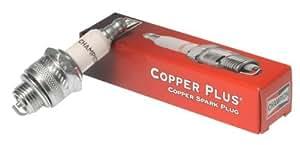 Champion j4C (825) Copper Plus Small Engine Spark Plug, Pack de 1al aire libre, hogar, jardín, suministro, Mantenimiento