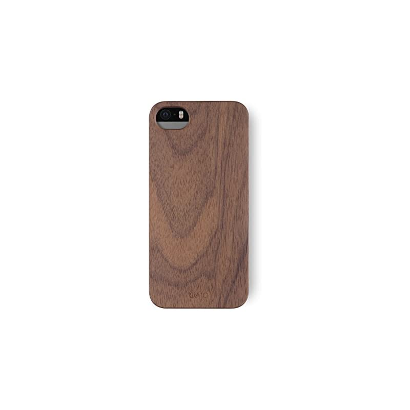 iATO iPhone SE / 5s / 5 Case Real Wooden