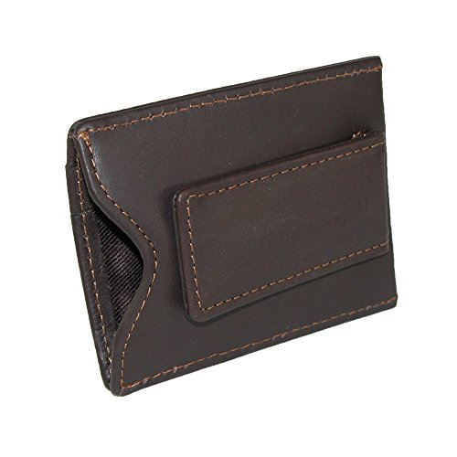 Dopp Men's Regatta Front Pocket Magnetic Money Clip Slim Minamalist Wallet, Mahogany One Size from Dopp