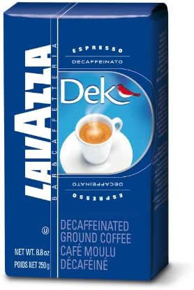 Coffee: Lavazza Dek