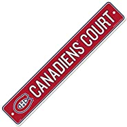 Montreal Canadiens 4x23 Street Sign