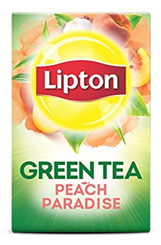 (Lipton Green Tea Bags, Superfruit, White Mangosteen & Peach, 20 ct, 3 pk )